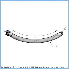 AP36 гибкий шланг для соединения с компрессором (15 БАР)