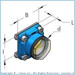 Смотровое окошко уровня конденсата i60, комплект