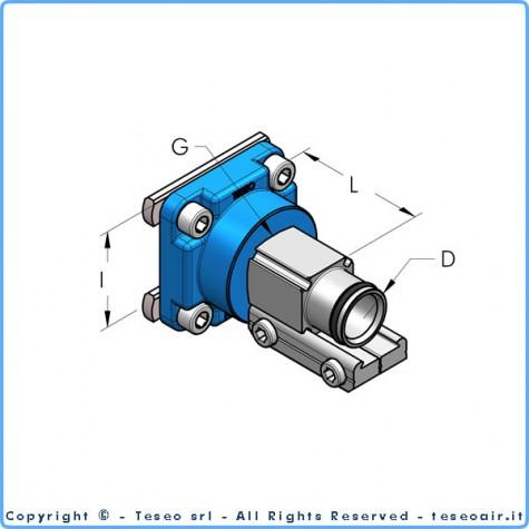 Накладка редукционная hbs-ap22 i60, комплект