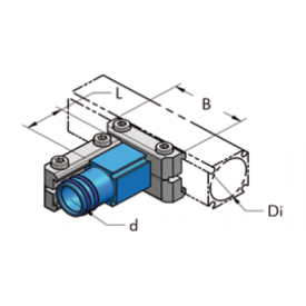 Ap28-ap22 накладка редукционная, комплект