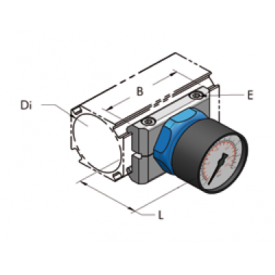 Ap22 манометр, комплект