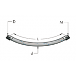 Ap28 гибкий шланг для для сжатого воздуха (15 бар)(15bar)