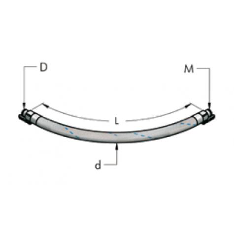 Ap22 гибкий шланг для для сжатого воздуха (15 бар)(15bar)
