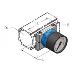 Ap28 манометр для вакуума, комплект