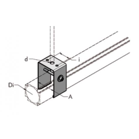 Крепёжная скоба для подвески ap36