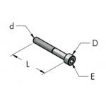 M6x45 винт с цилиндрической головкой из оцинкованной стали