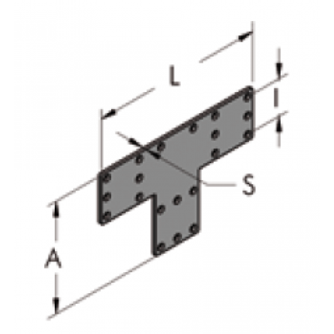 Т-образная накладка i36-60